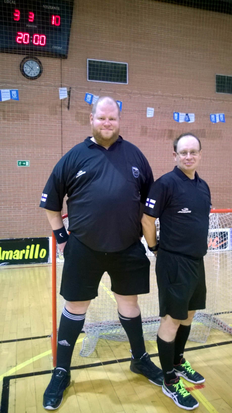 Finnish referees